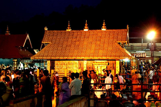 Ayyappan Temple at Sabarimala